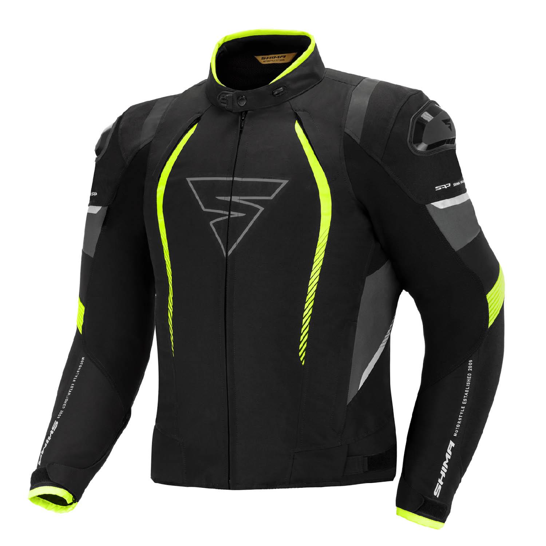 Спортивная куртка SHIMA SOLID PRO FLUO текстильная для мотоциклистов купить по низкой цене