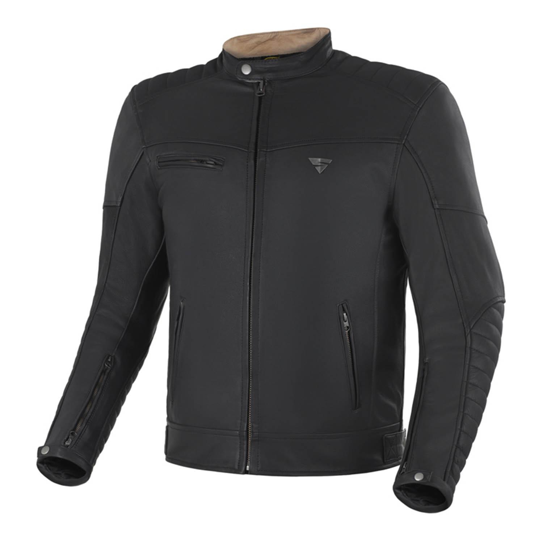 Geaca de piele SHIMA WINCHESTER классическая для мотоциклистов купить по низкой цене