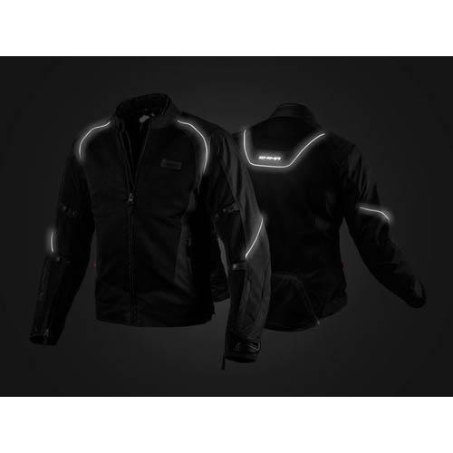 Спортивная куртка SHIMA X-MESH текстильная для мотоциклистов вид отражатель купить по низкой цене
