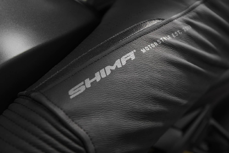 Мотоциклетные штаны SHIMA CHASE TROUSERS из кожи вид логотип купить по низкой цене