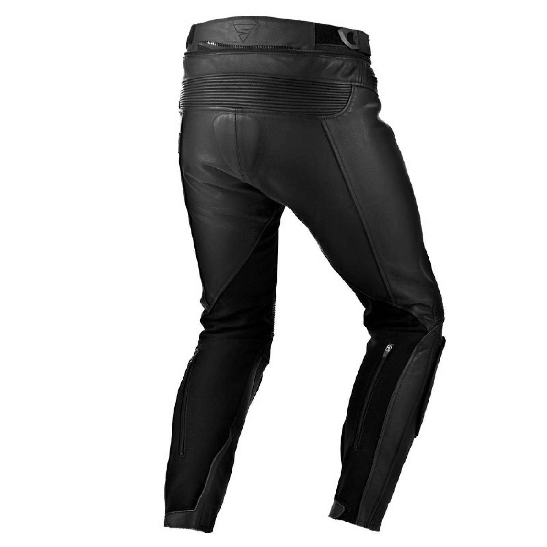 Мотоциклетные штаны SHIMA CHASE TROUSERS из кожи вид сзади купить по низкой цене