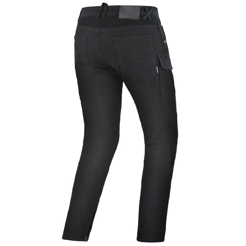 Мотоциклетные штаны SHIMA GIRO из текстиля вид сзади купить по низкой цене