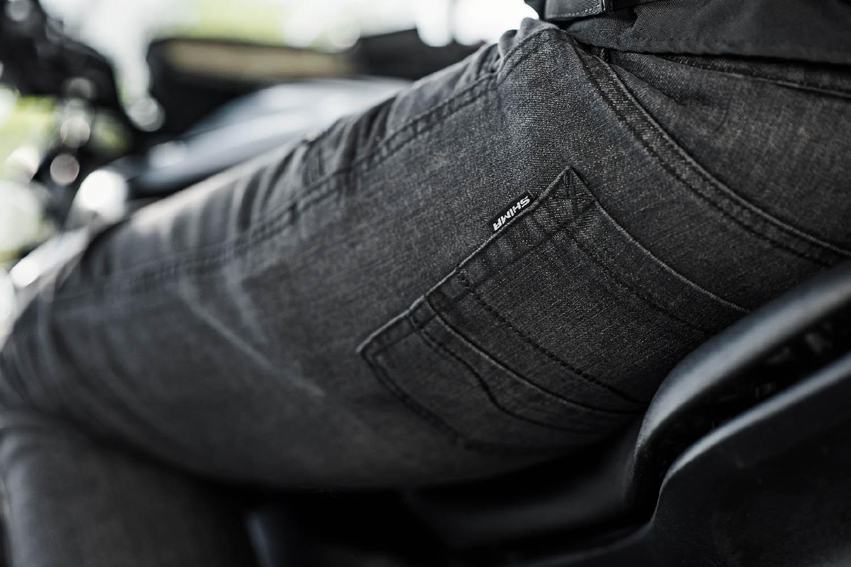 Джинсы мотоциклетные SHIMA GRAVEL 3.0 задний карман пара купить по низкой цене