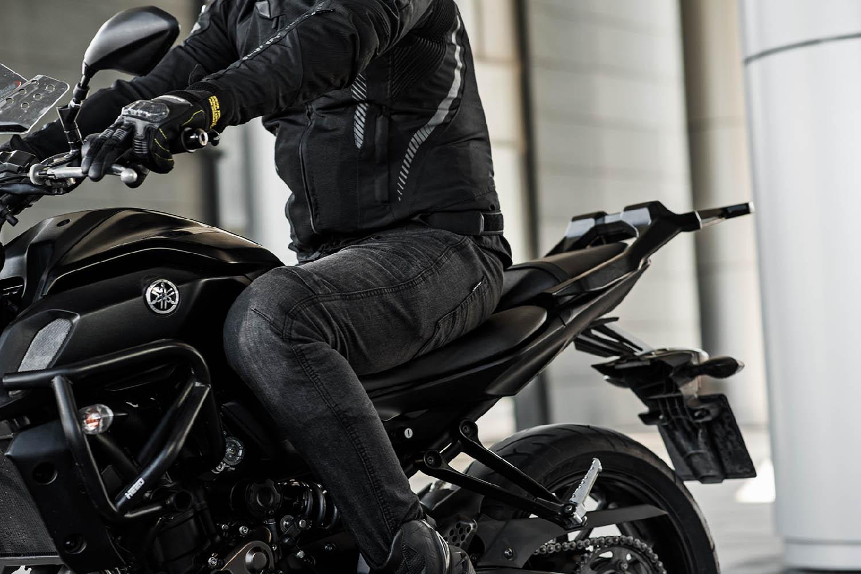 Джинсы мотоциклетные SHIMA GRAVEL 3.0 вид слева купить по низкой цене