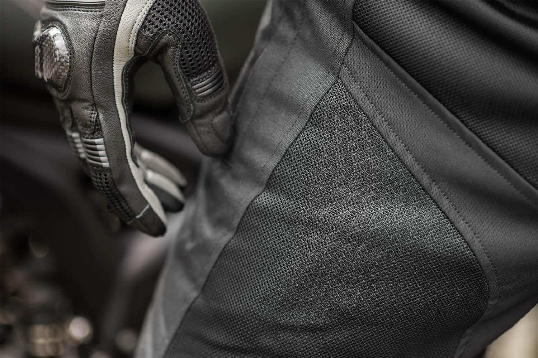 Мотоциклетные штаны SHIMA JET TROUSERS из текстиля вид сетчатая вставка купить по низкой цене