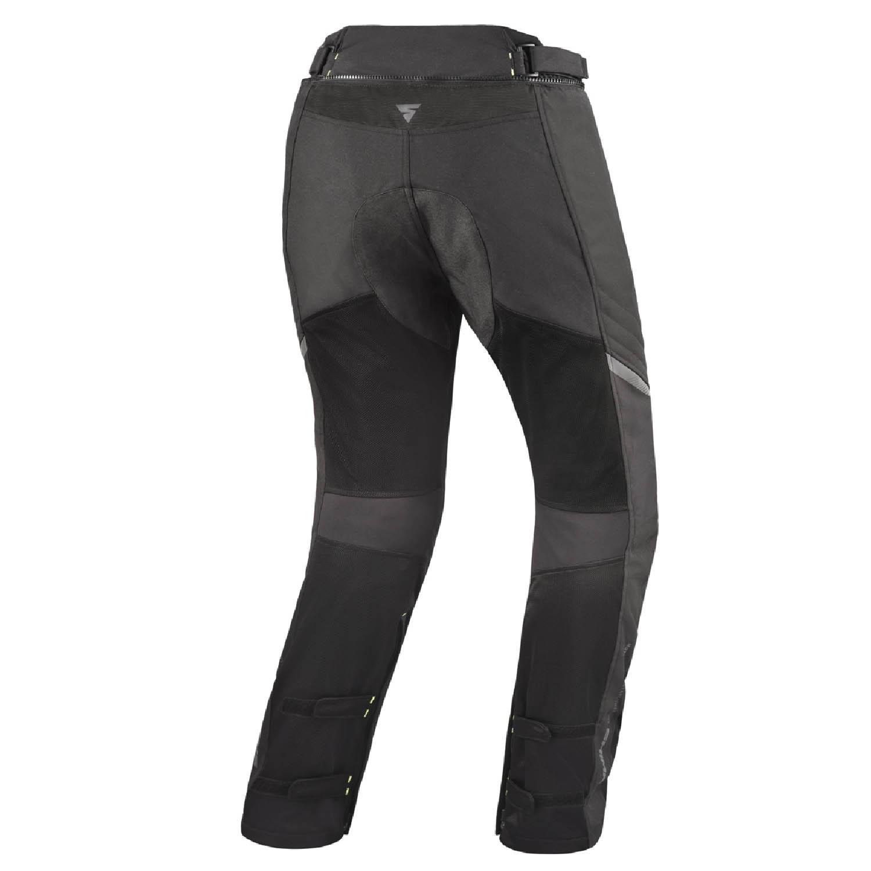 Мотоциклетные штаны SHIMA JET TROUSERS из текстиля вид сзади купить по низкой цене