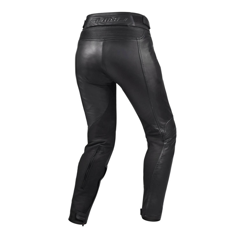 Мотоциклетные штаны SHIMA MONACO из кожи для мотоледи, вид пара купить по низкой цене