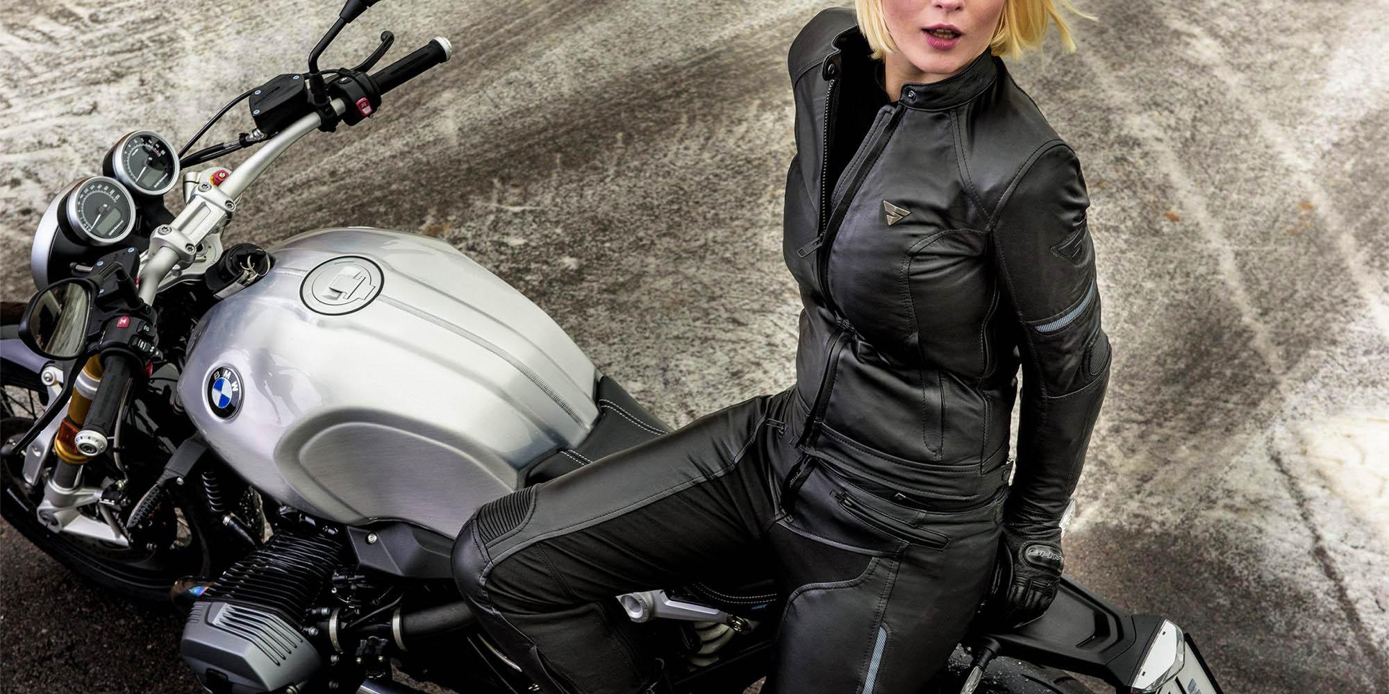 Мотоциклетные штаны SHIMA MONACO из кожи для мотоледи, вид на сиденье купить по низкой цене