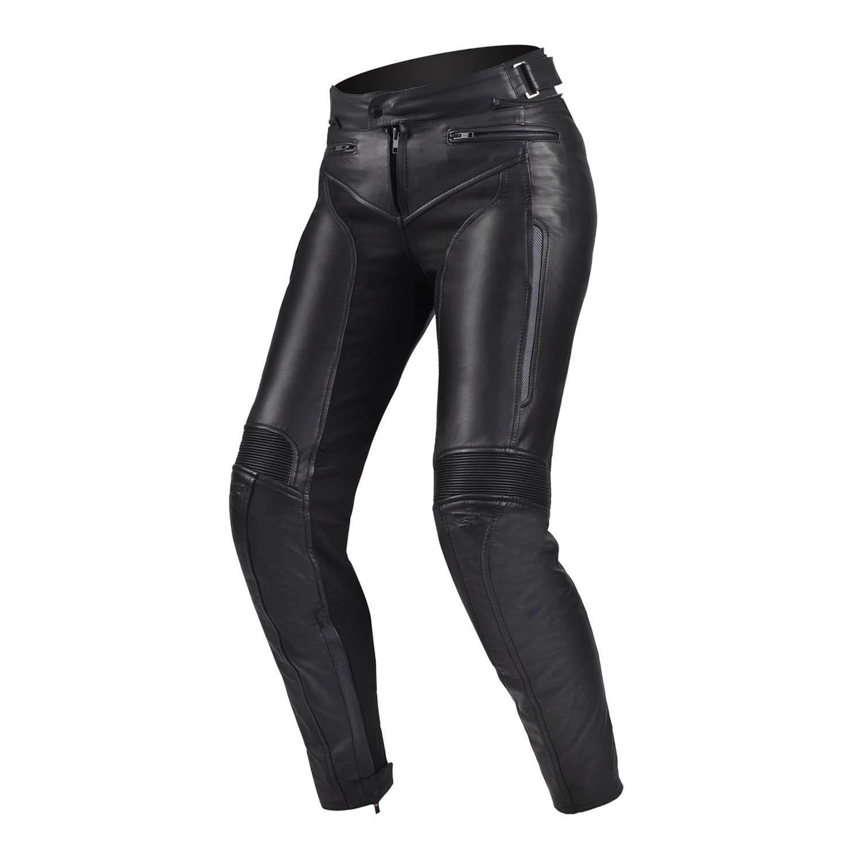 Мотоциклетные штаны SHIMA MONACO из кожи для мотоледи купить по низкой цене