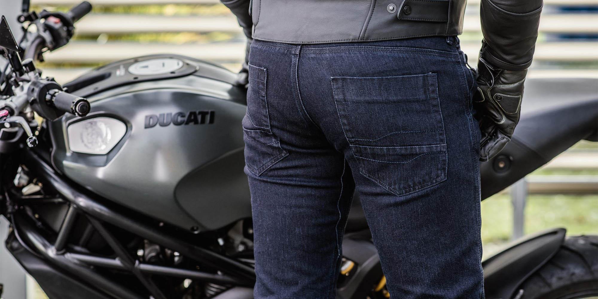 Джинсы мотоциклетные SHIMA TARMAC 3.0 вид карманы купить по низкой цене