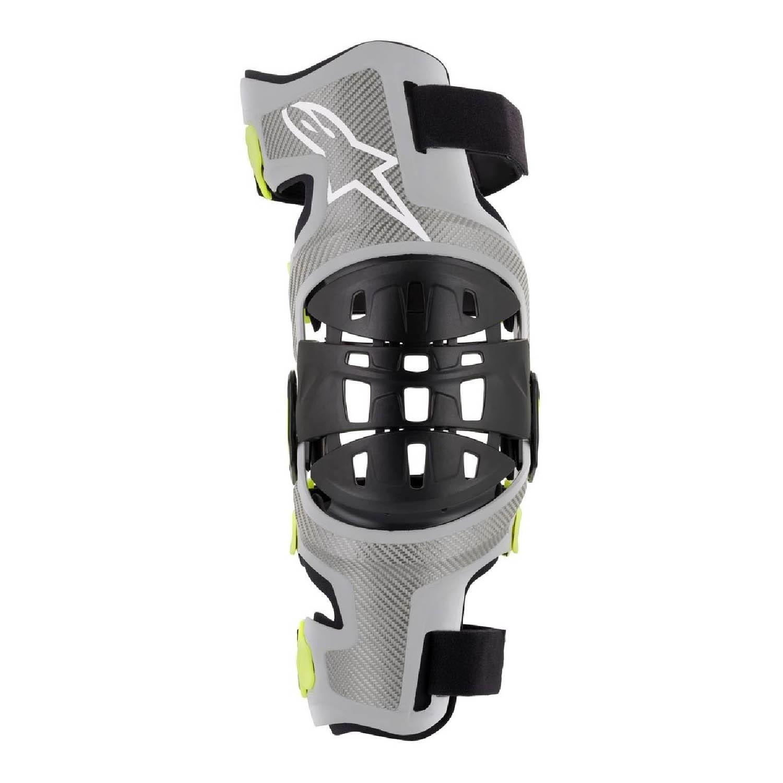 Защита для колен ALPINESTARS BIONIC-7 KNEE BRACE SET вид слева купить по низкой цене