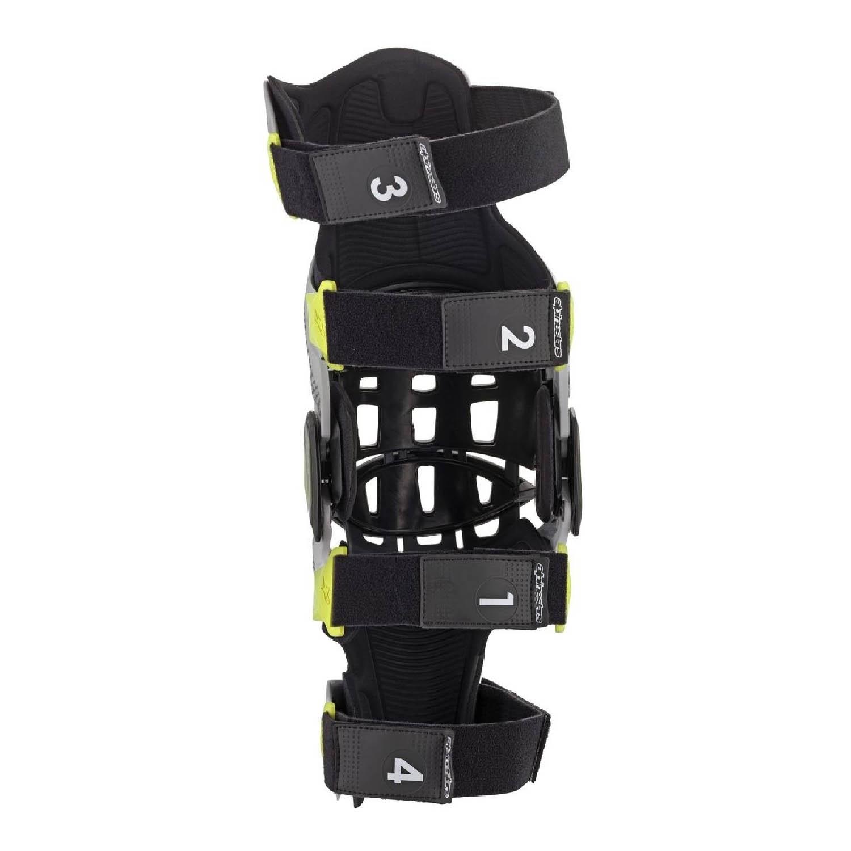 Защита для колен ALPINESTARS BIONIC-7 KNEE BRACE SET вид изнутри справа купить по низкой цене