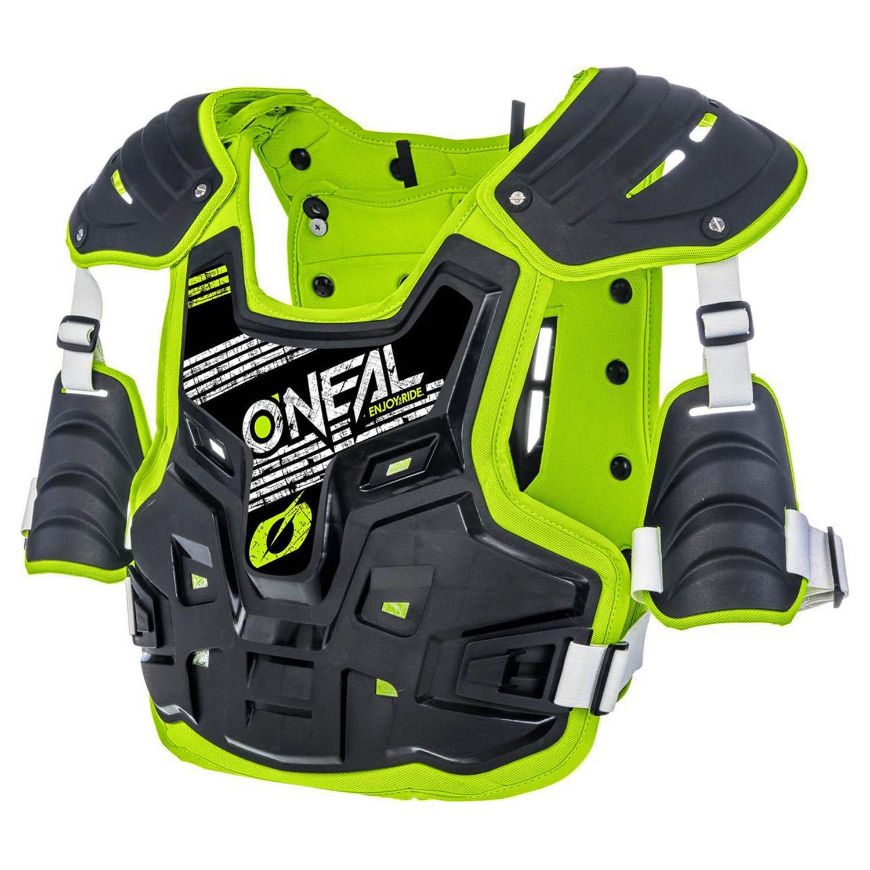 Защита спины и груди O'NEAL PXR STONE SHIELD зелёно-чёрного цвета купить по низкой цене