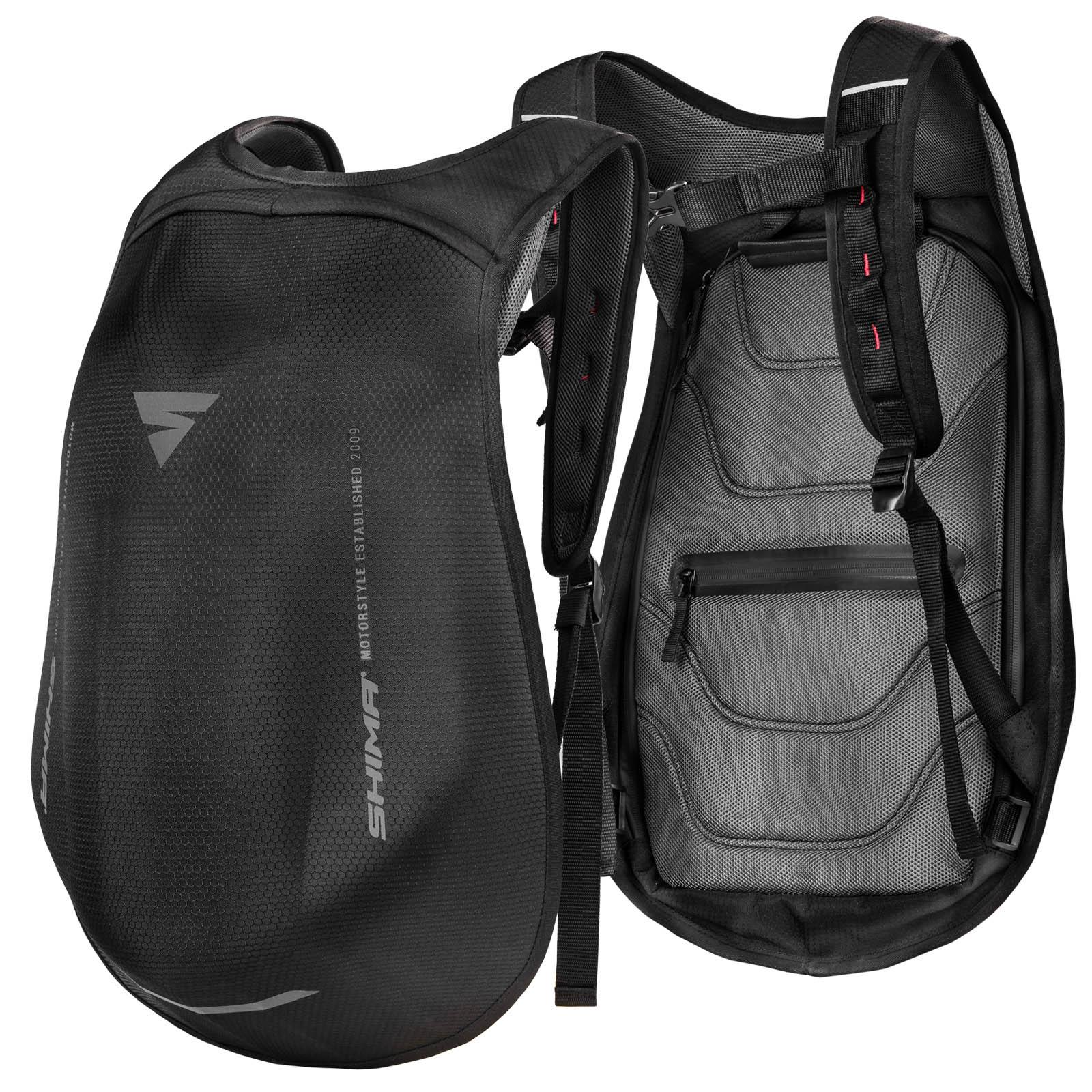 Рюкзак мотоциклетный Ayro Backpack вид спереди и сзади купить по низкой цене