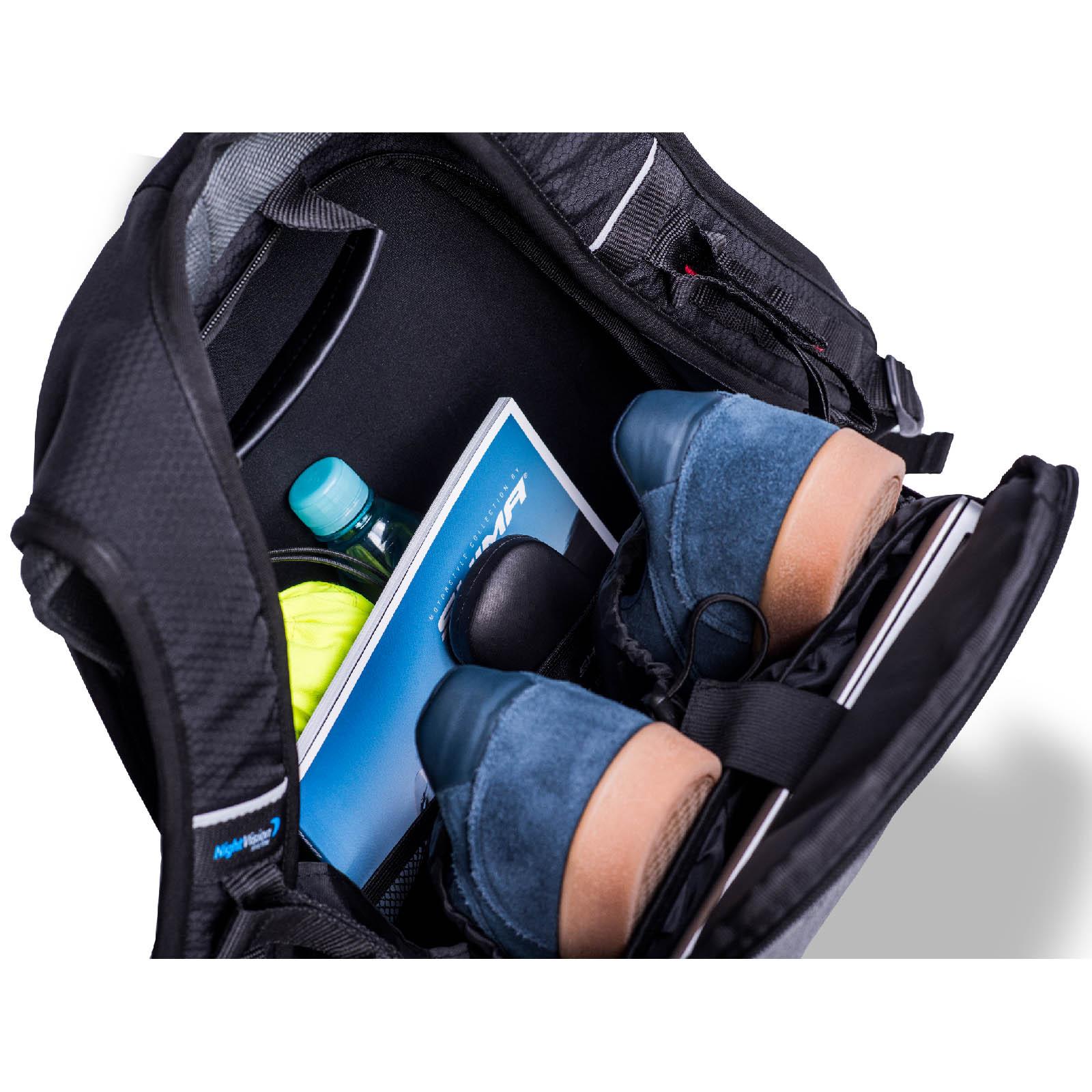 Рюкзак мотоциклетный Ayro Backpack вид открытый купить по низкой цене