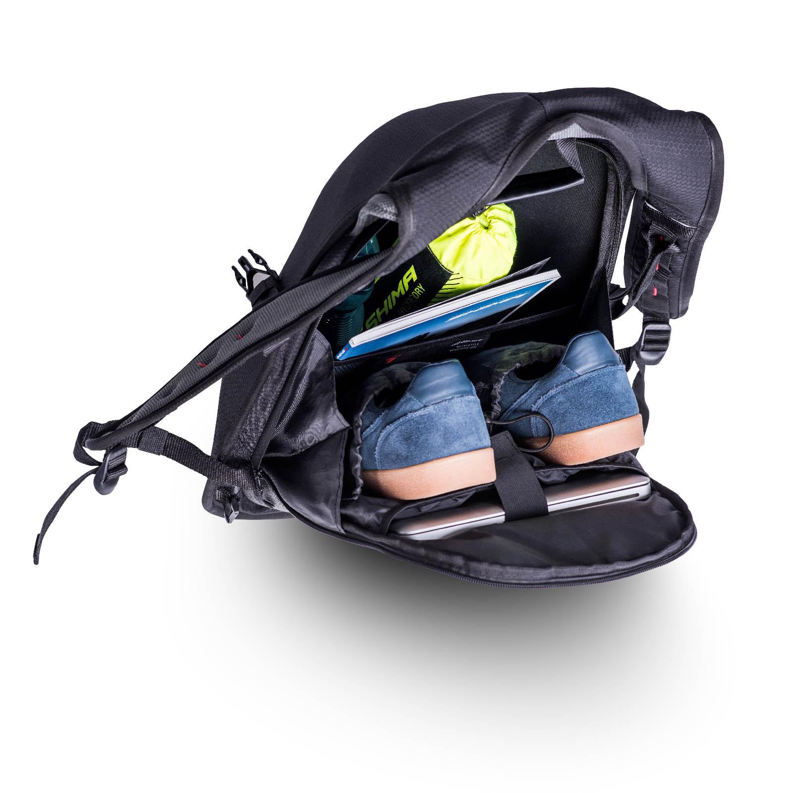 Рюкзак мотоциклетный Ayro Backpack вид изнутри купить по низкой цене