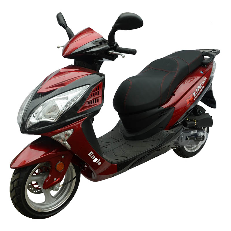 Cumpărați scuter Eagl Run culoare burgundia la preț redus