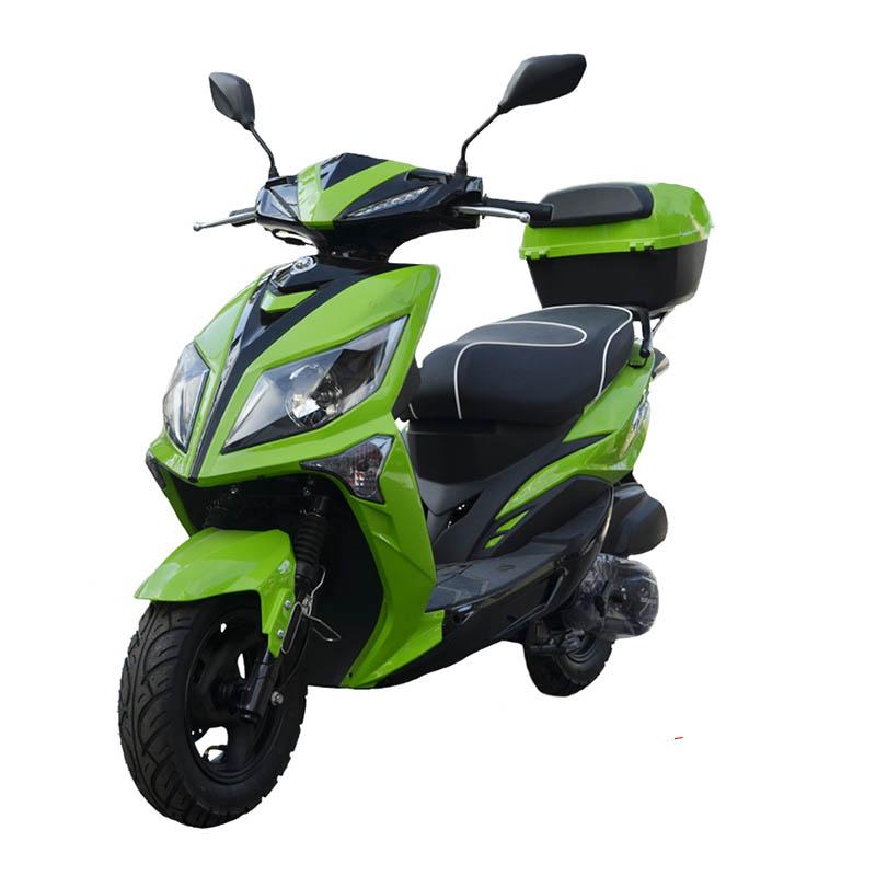 Скутер Кинг Вар цвет зелёный купить по низкой цене