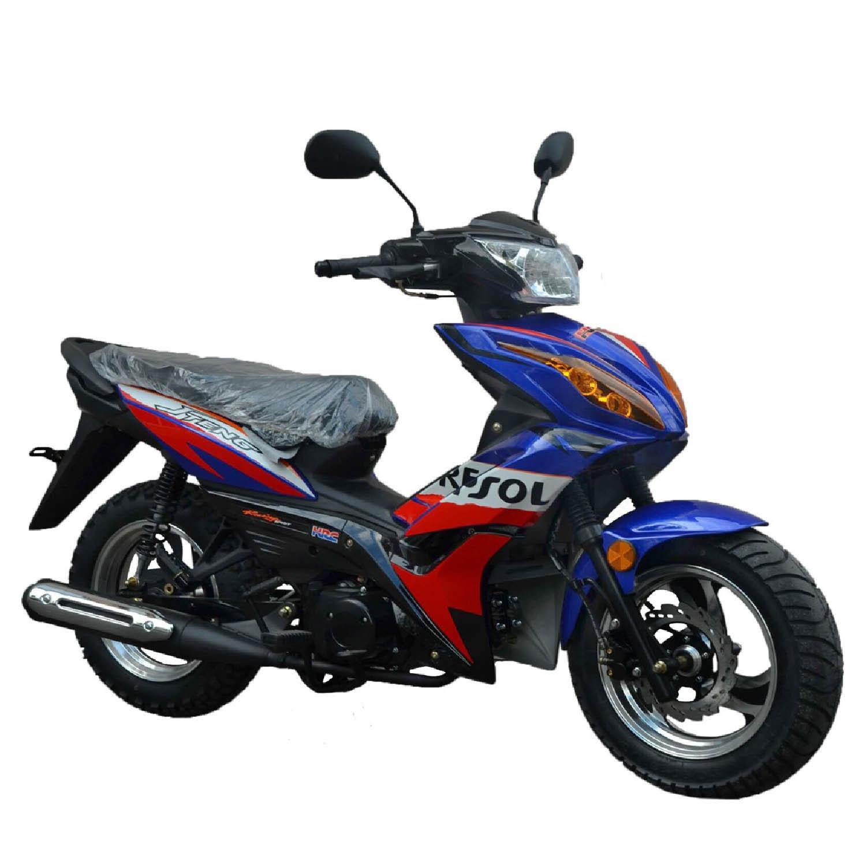 Скутер WOLF MOTOR REPSOL вид справа купить по низкой цене