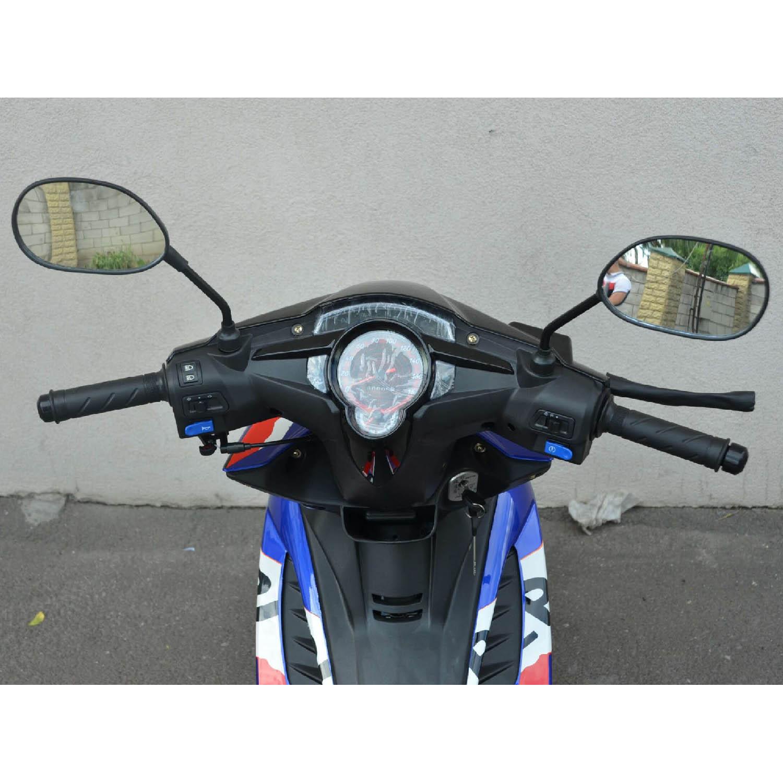 Скутер Wolf Motor Repsol 49.9 вид щиток приборов купить по низкой цене